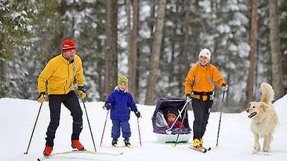 Activities Skiing mini block
