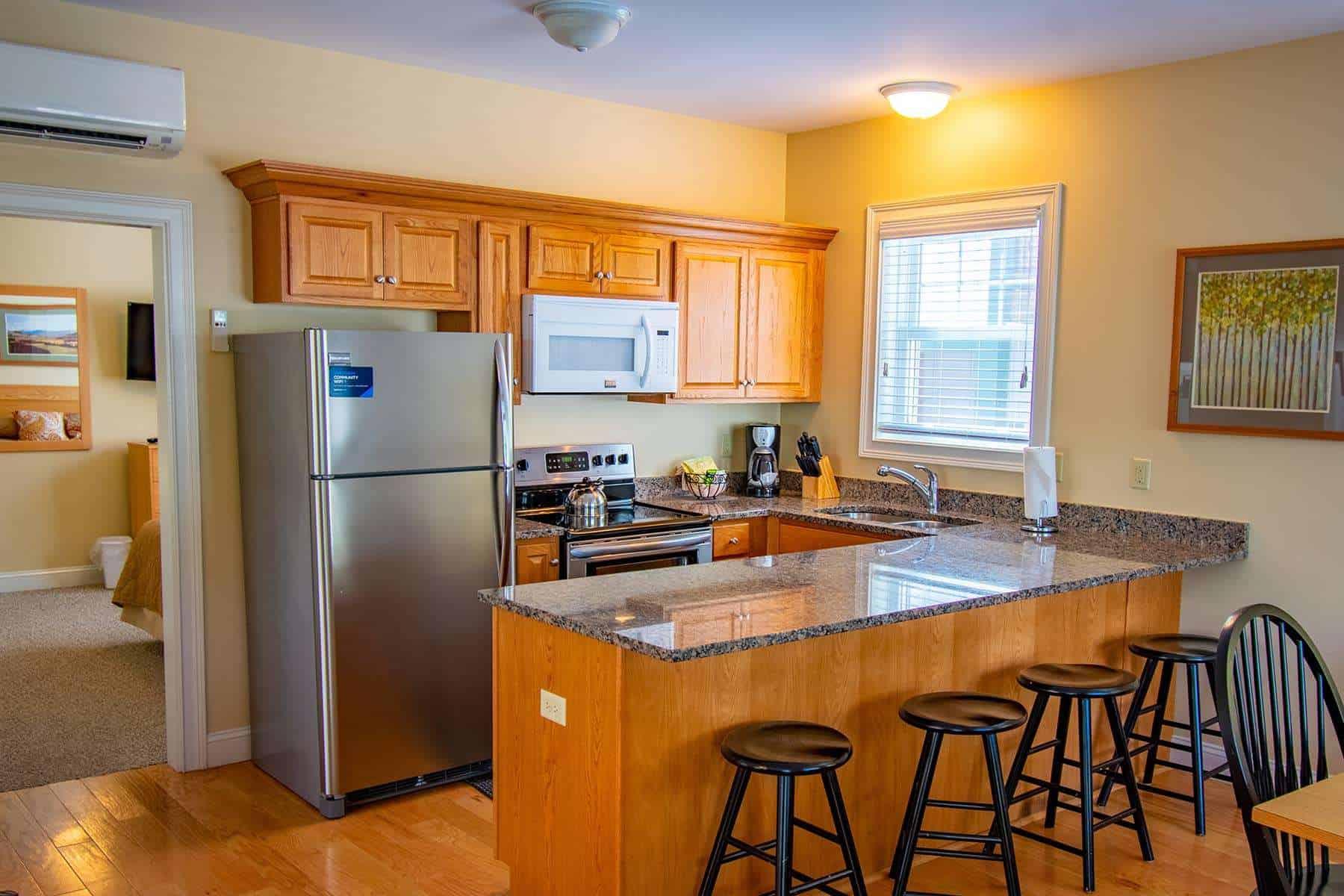 Deluxe 1 Bedroom Kitchen E156 WW